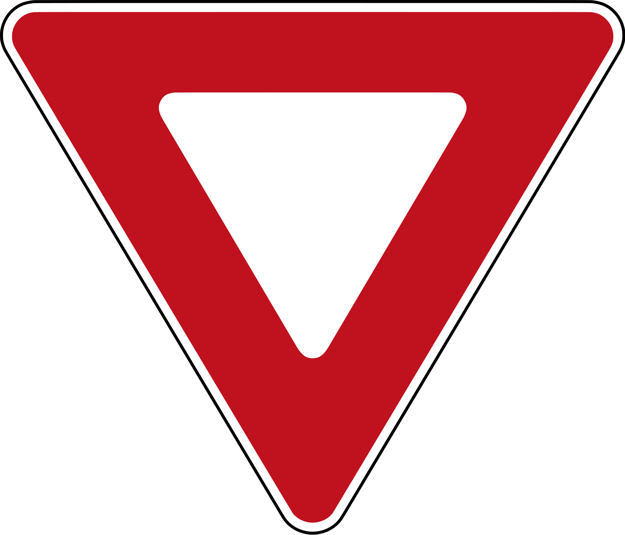 Yield sign png. File canada svg wikimedia