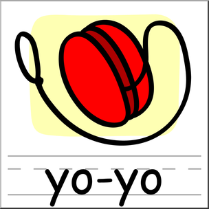 Clip art basic words. Yoyo clipart graphic free library
