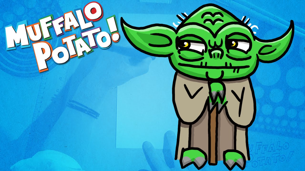 Yoda clipart fun2draw. How to draw from