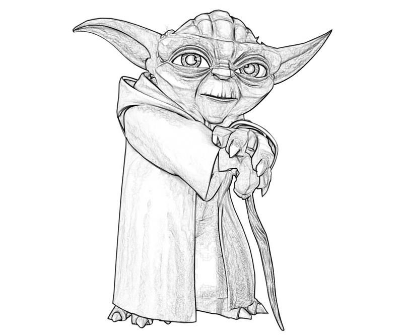 Yoda clipart printable. Old coloring pages tubing