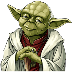 Master yoda png. Star wars collection line