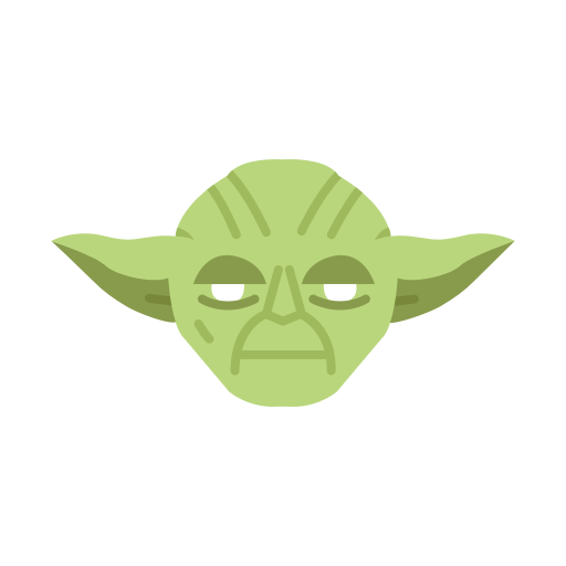 Yoda icon png. Famous characters add on