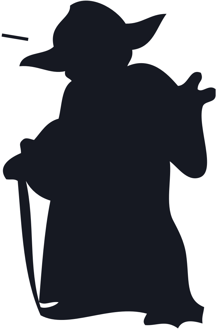 Yoda outline png. Collection of clipart