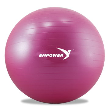Yoga ball png. Empower core with dvd