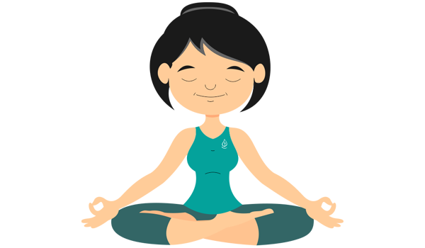 Yoga cartoon image png. Aikya build that focus