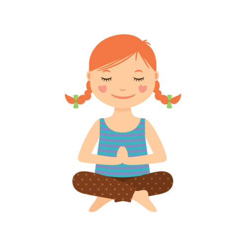 Yoga cartoon image png. Collection of kids