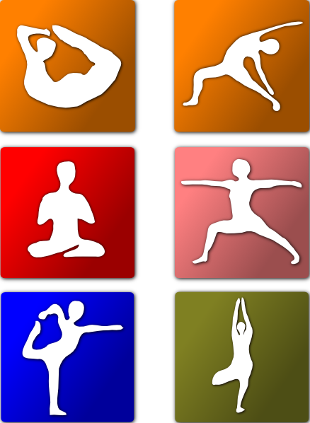 Yoga clip indian. Positions art at clker