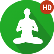 Yoga clip mindfulness. Meditation music relax apps