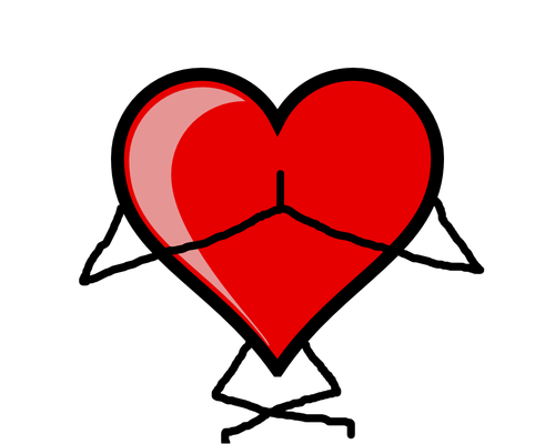 Yoga clipart aerobic. Benefits your heart just