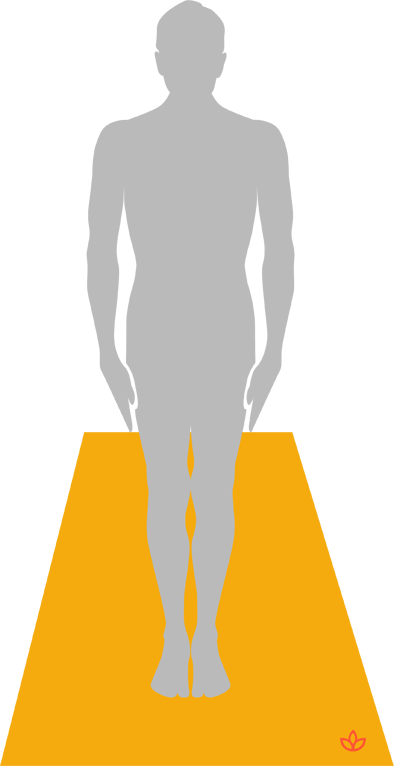 Yoga clip mountain pose. What is definition from
