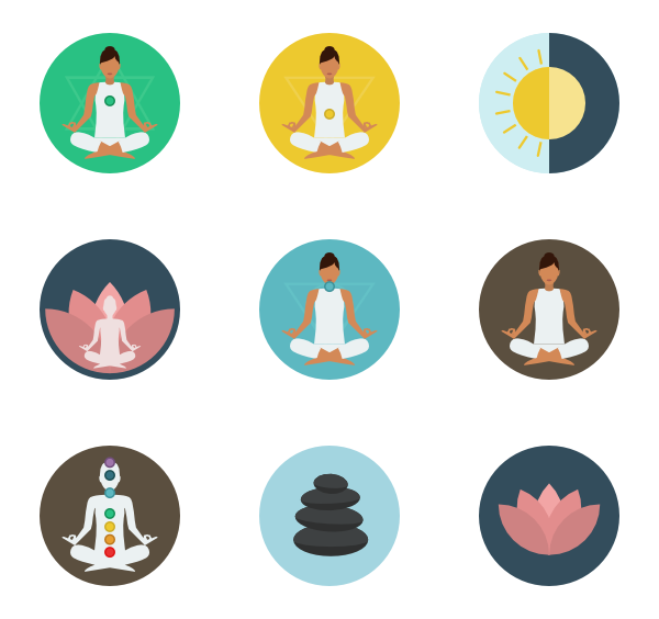 Yoga free png. Icon packs vector