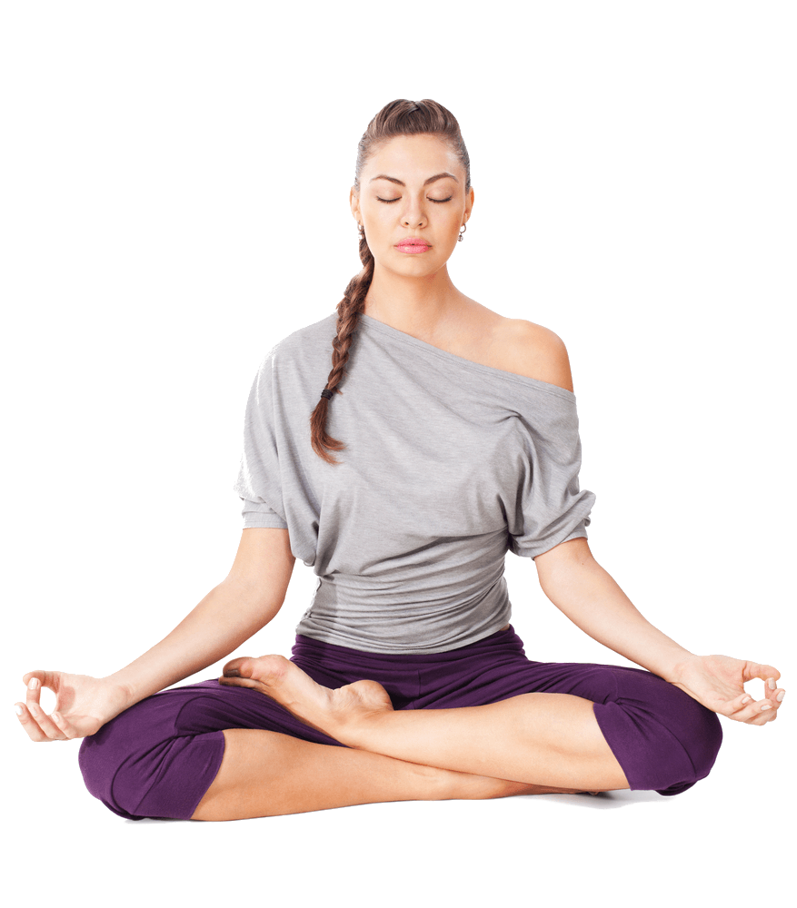 Person doing yoga png. Meditation transparent stickpng sports