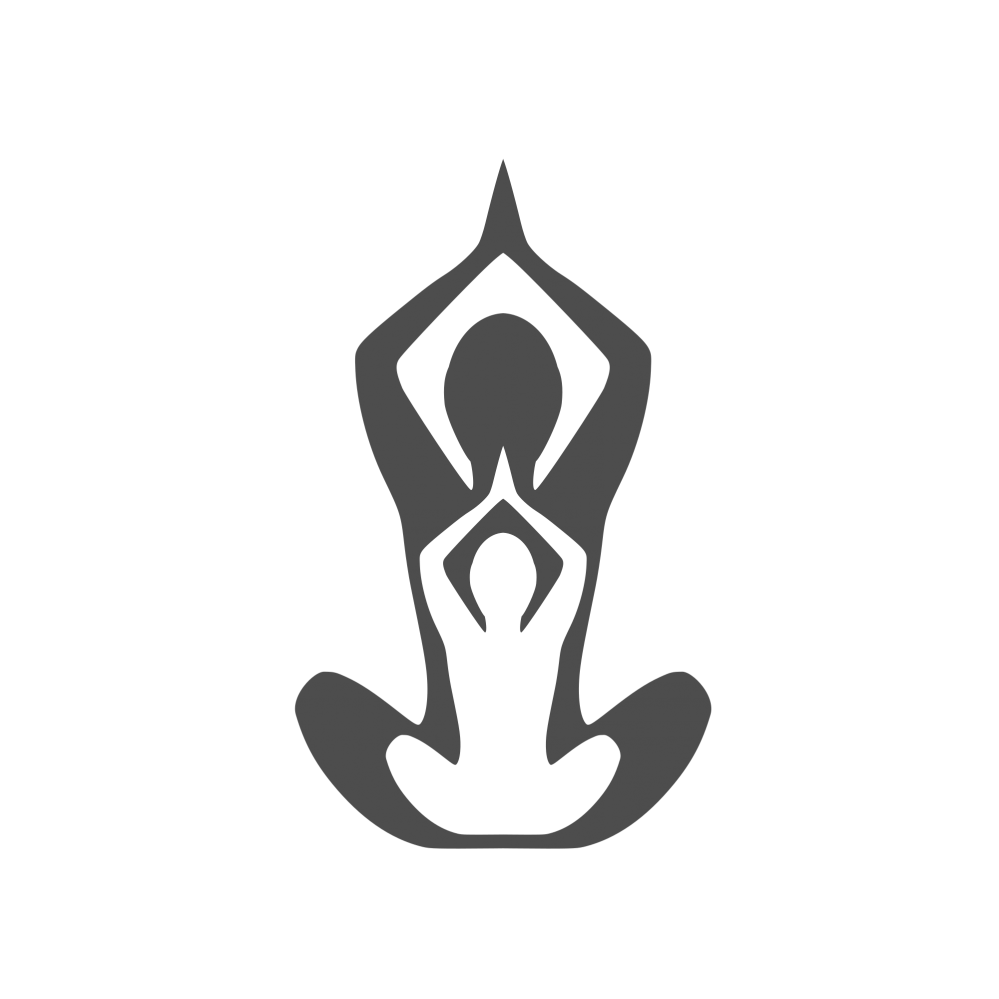 Yoga logo png. Element template graphic free