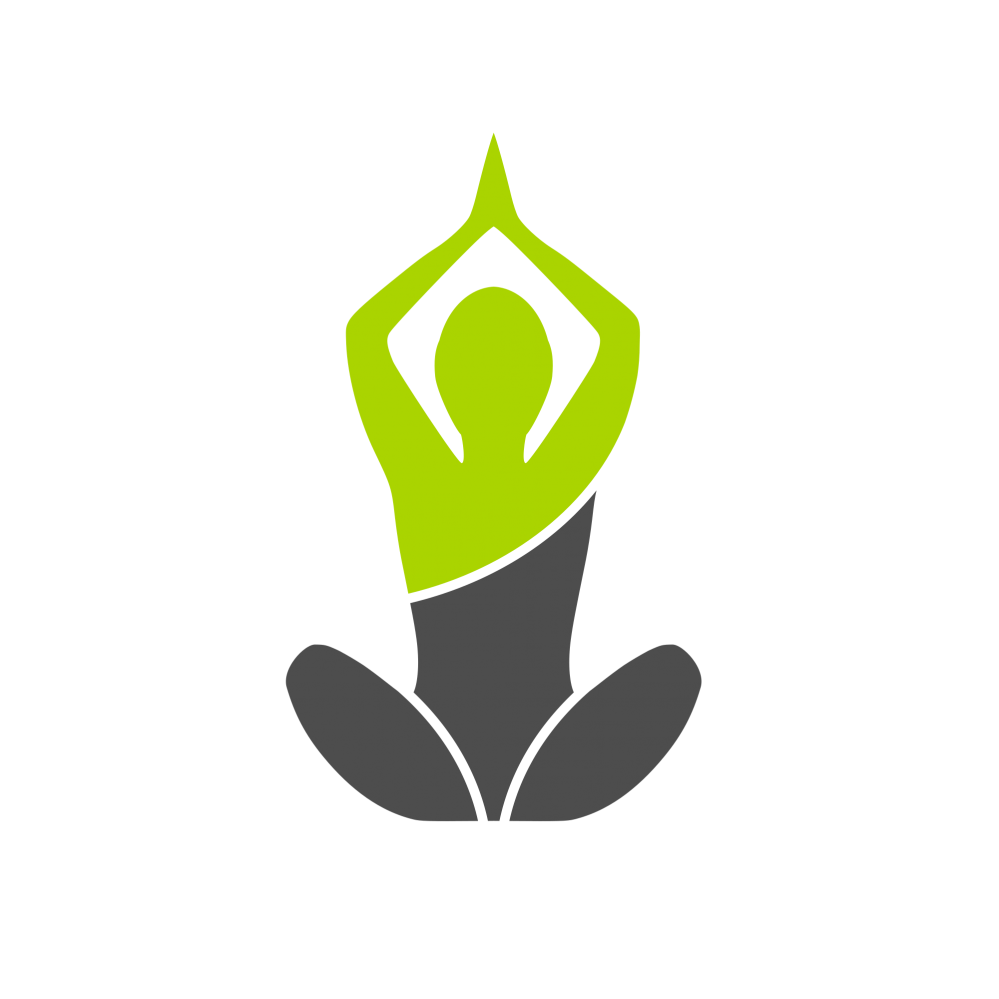 Template graphic free elements. Yoga logo png clipart black and white download