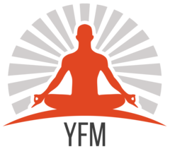 Yoga transparent mindfulness. Fitness