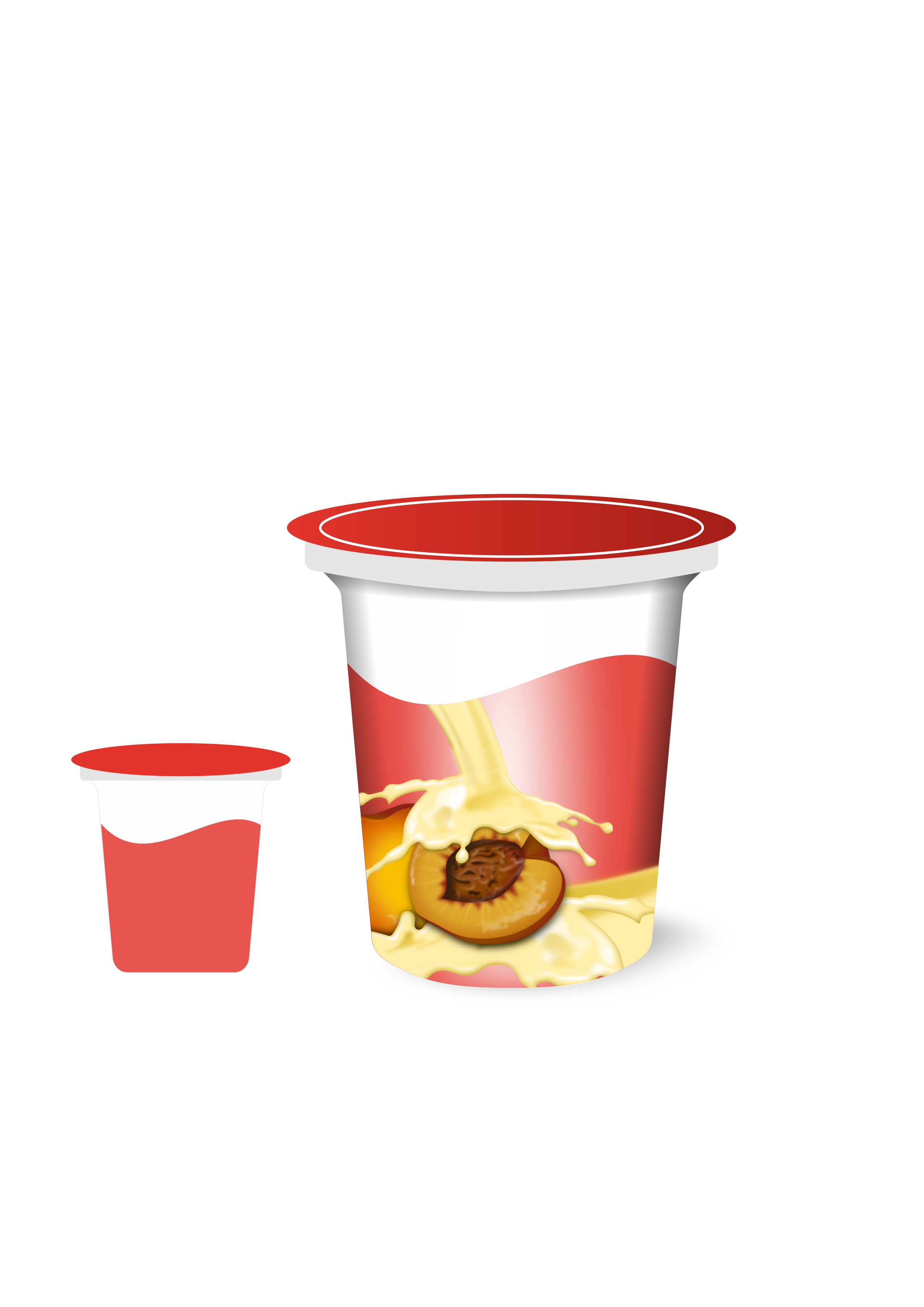Yogurt clipart food packaging. Container free on dumielauxepices