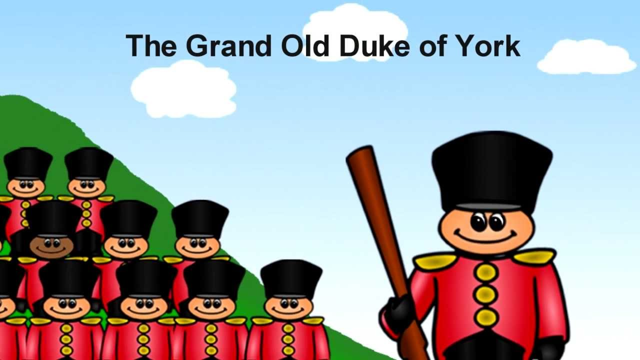 York clipart grand old. Duke of youtube