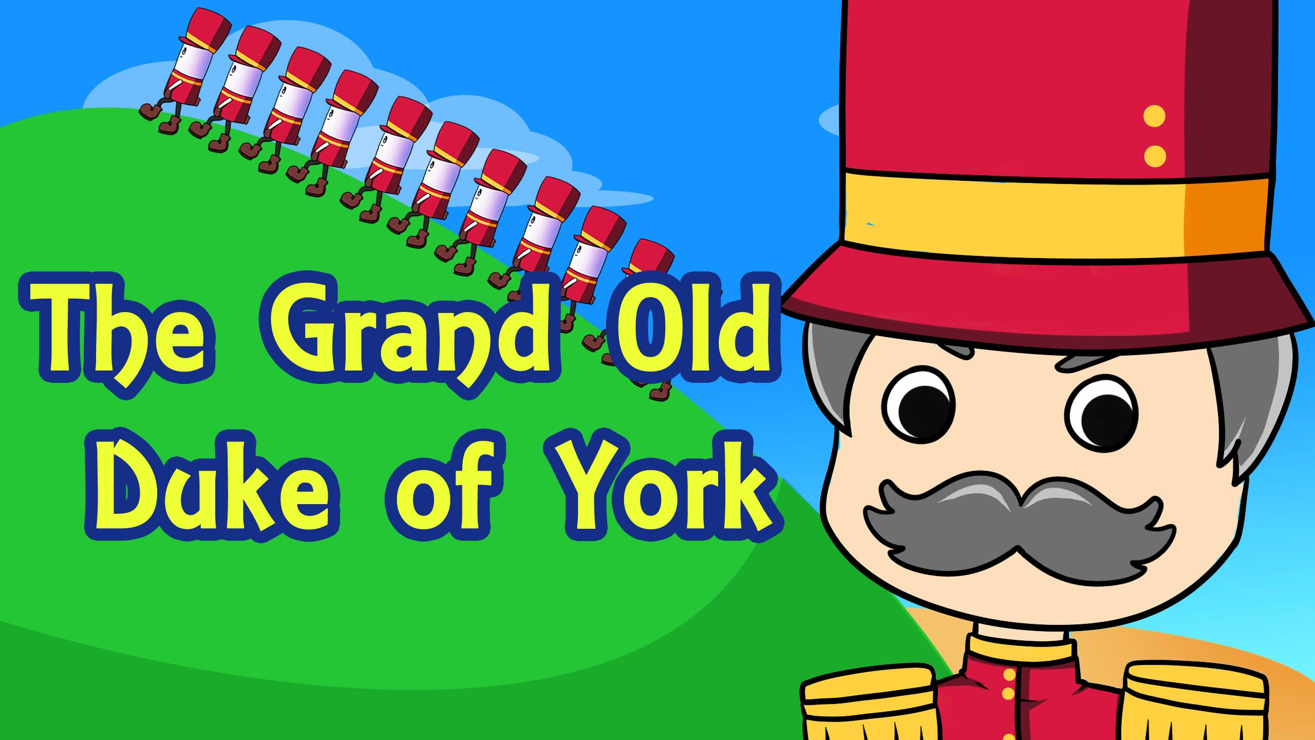 York clipart grand old. The duke of nursery