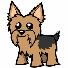 Yorkie clipart. Paws claws pinterest clip