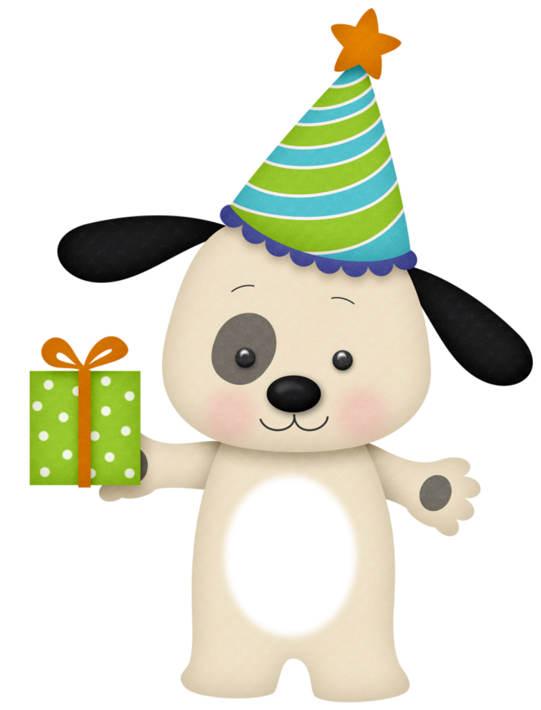 Yorkie clipart birthday. Dog png bear happy