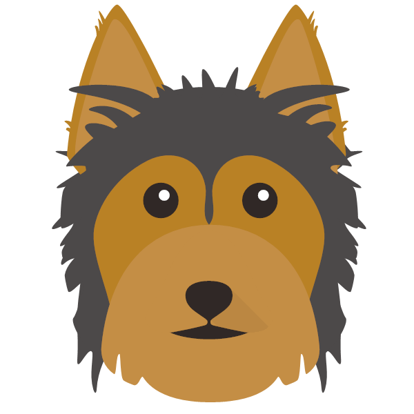 Yorkie clipart silky terrier. Just for your australian