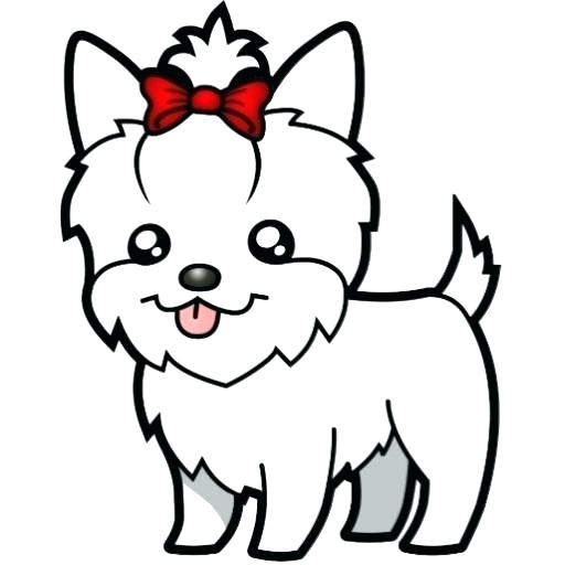 Yorkie clipart teacup yorkie. Coloring pages awesome image