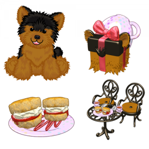 Yorkie clipart teacup yorkie. Sneak peek wkn webkinz