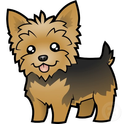 Yorkie clipart teacup yorkie. Yorkshire terrier