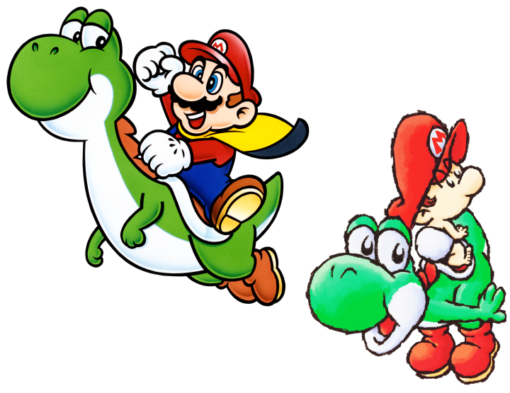 yoshi vector different