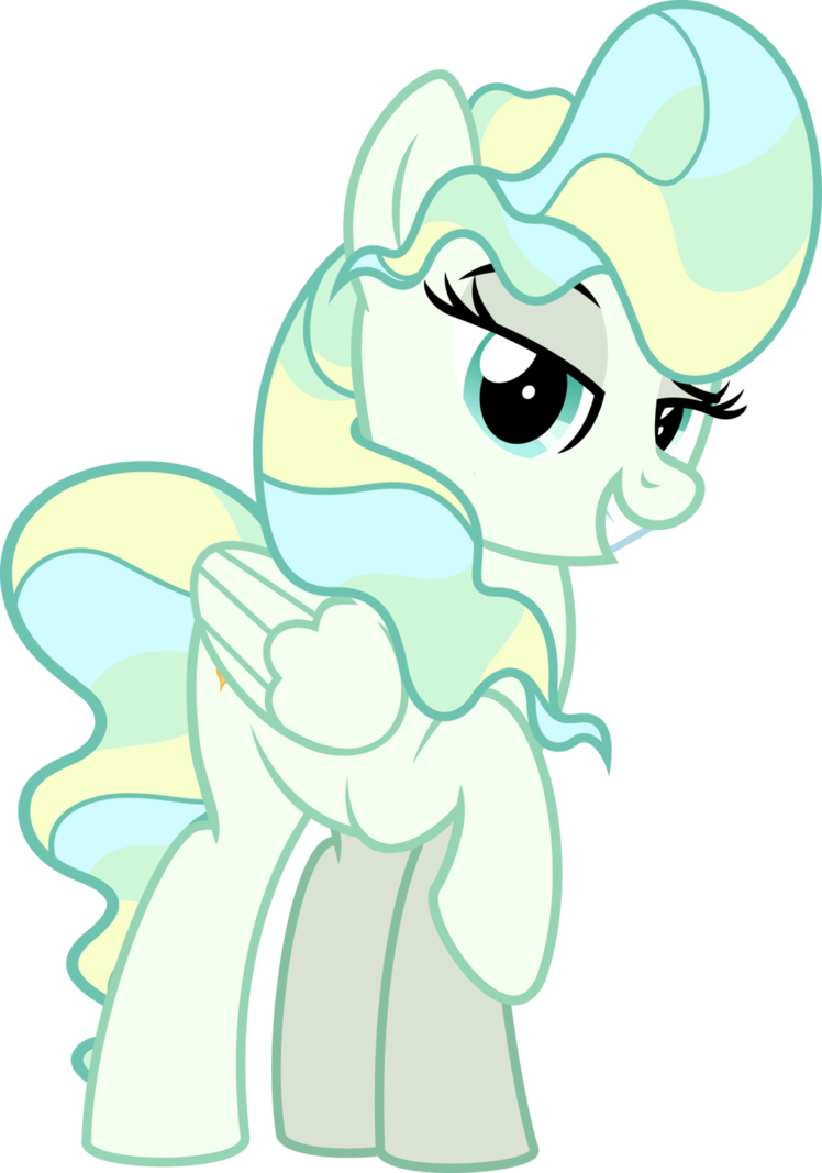 Yoshi vector excited. Mlp vapor trail by