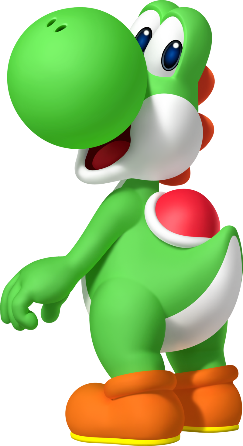 Yoshi vector transparent background. Download free png pic