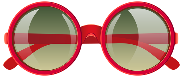 Yoshi vector sunglasses. Cute red png clipart