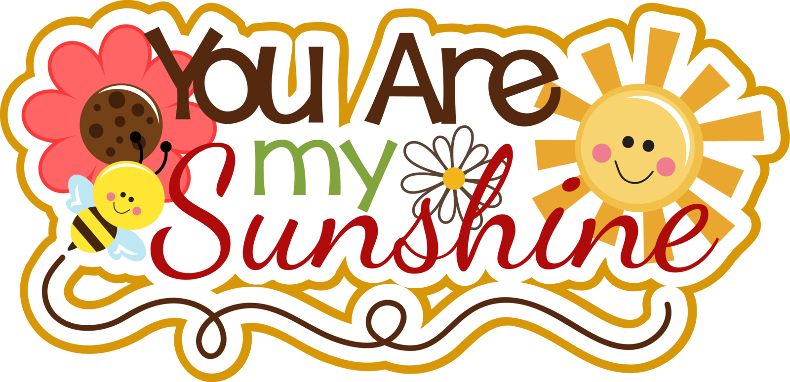 You are my sunshine png. Gigs creative closet motivational