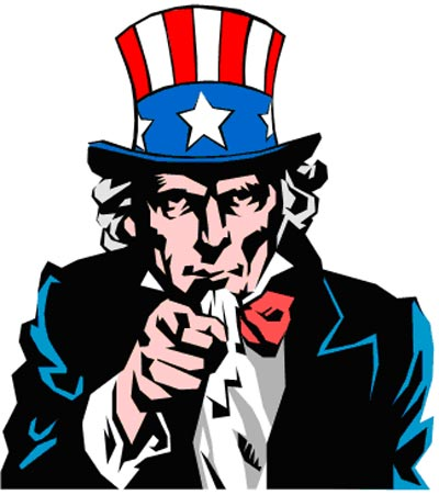 You clipart uncle sam. Wants