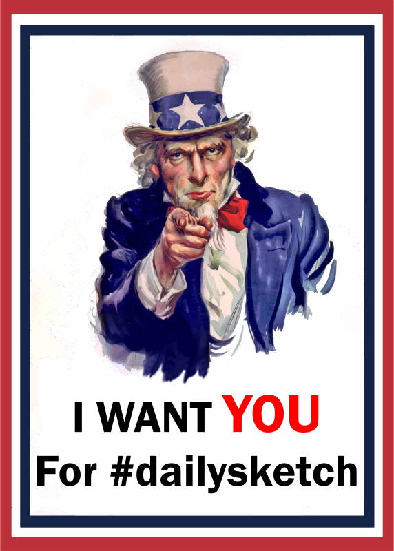 You clipart uncle sam. Wants for dailysketch cleaned