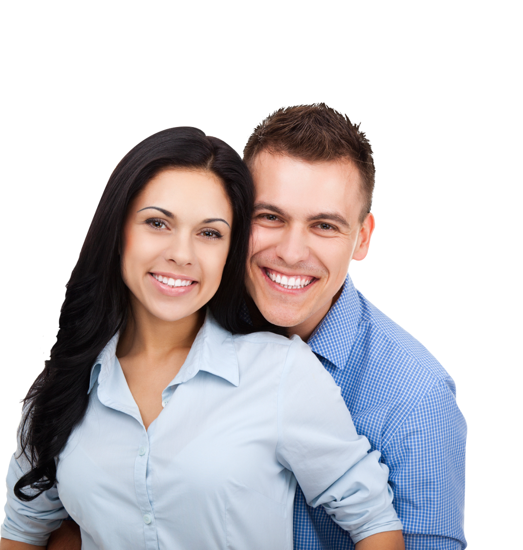 Young couple png. Stock photography smile transprent
