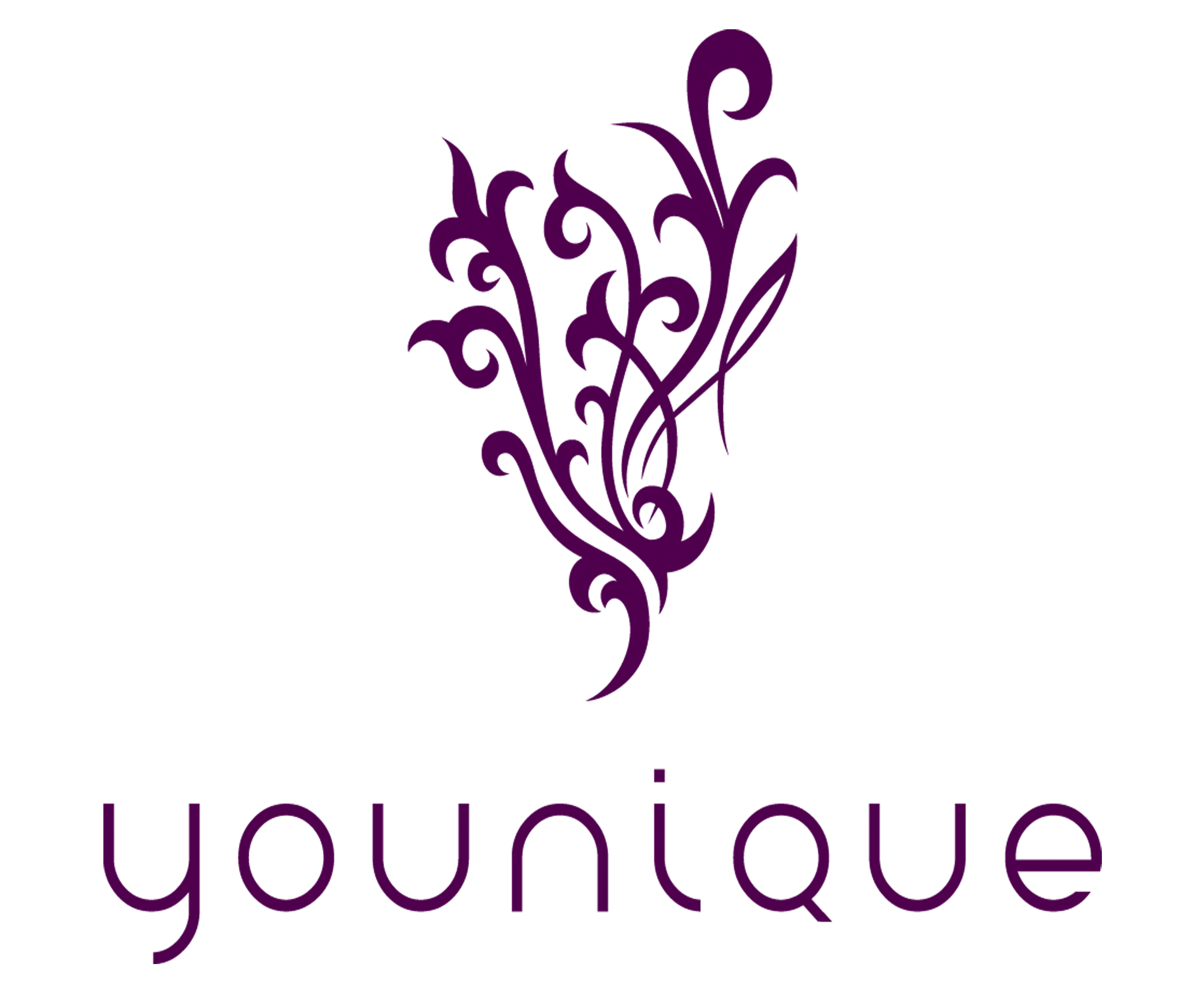 Younique flourish png. Logo symbol meaning history