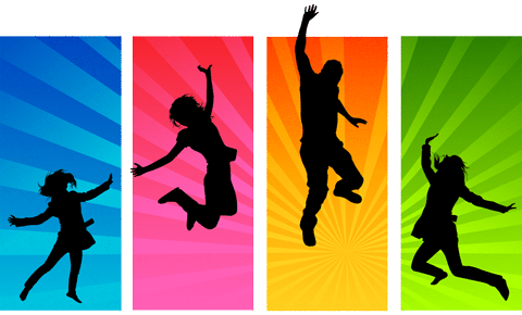 Youth clipart silhouette transparent background. Png pictures free icons