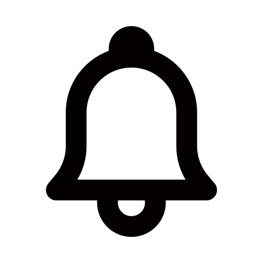 Youtube bell png transparent background. Notice icon ico