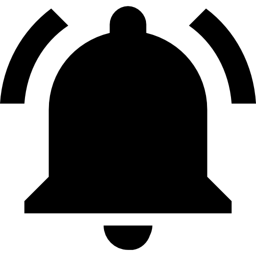 Notifications icon svg . Youtube bell png png freeuse library