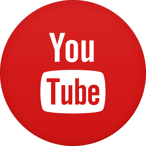 Youtube circle icon png. Transparent stickpng
