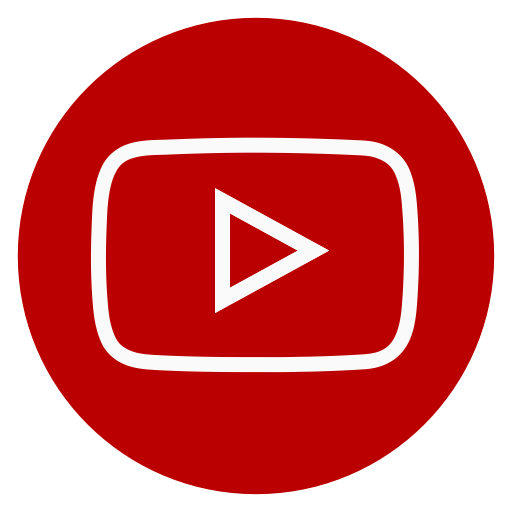 Youtube circle icon png. Social media by jraoui