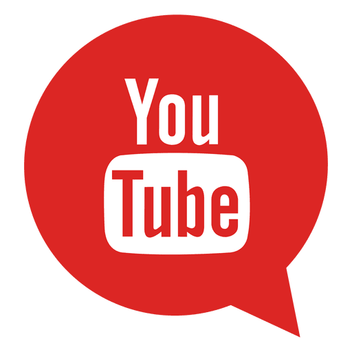 Png youtube. Bubble icon transparent svg