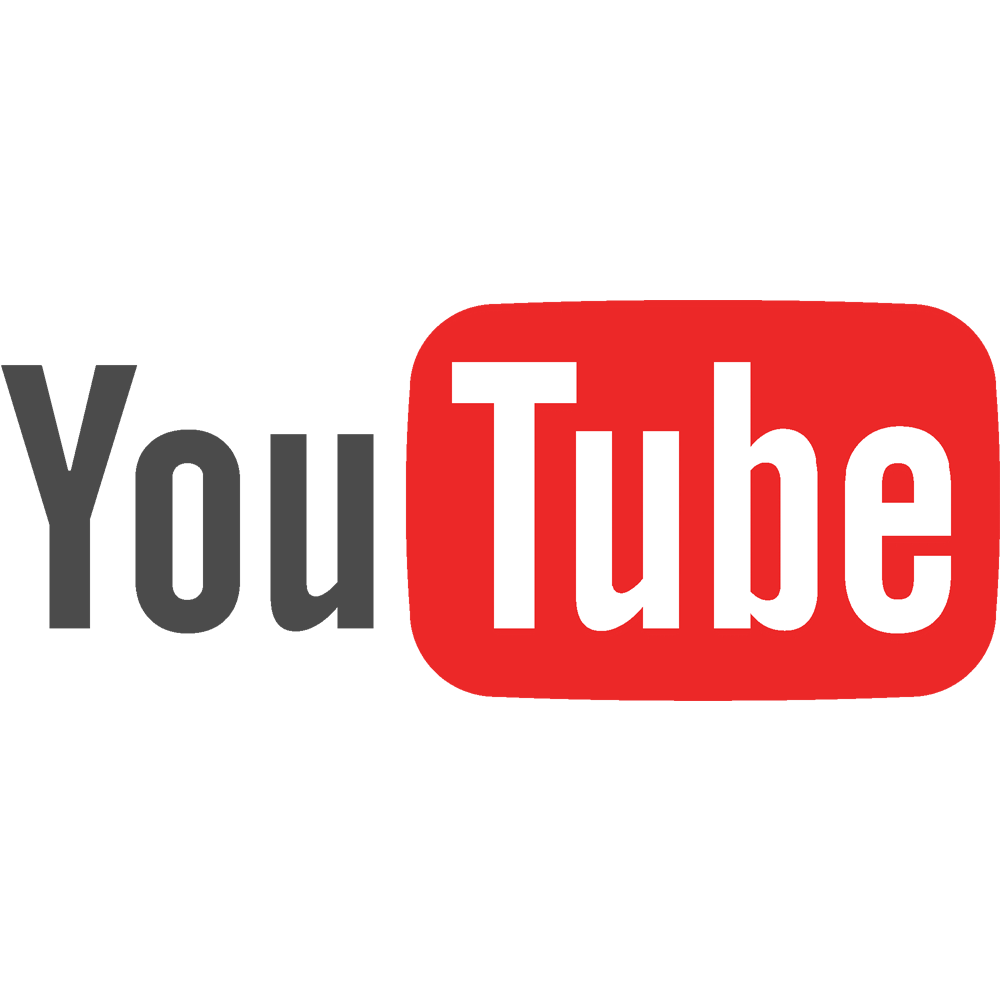 Youtube png. Image logo full color