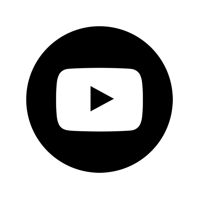 Youtube logo black png. Amp white icon you