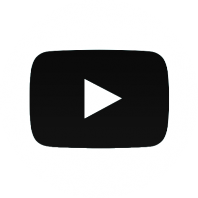 Youtube logo png white. Download free transparent image