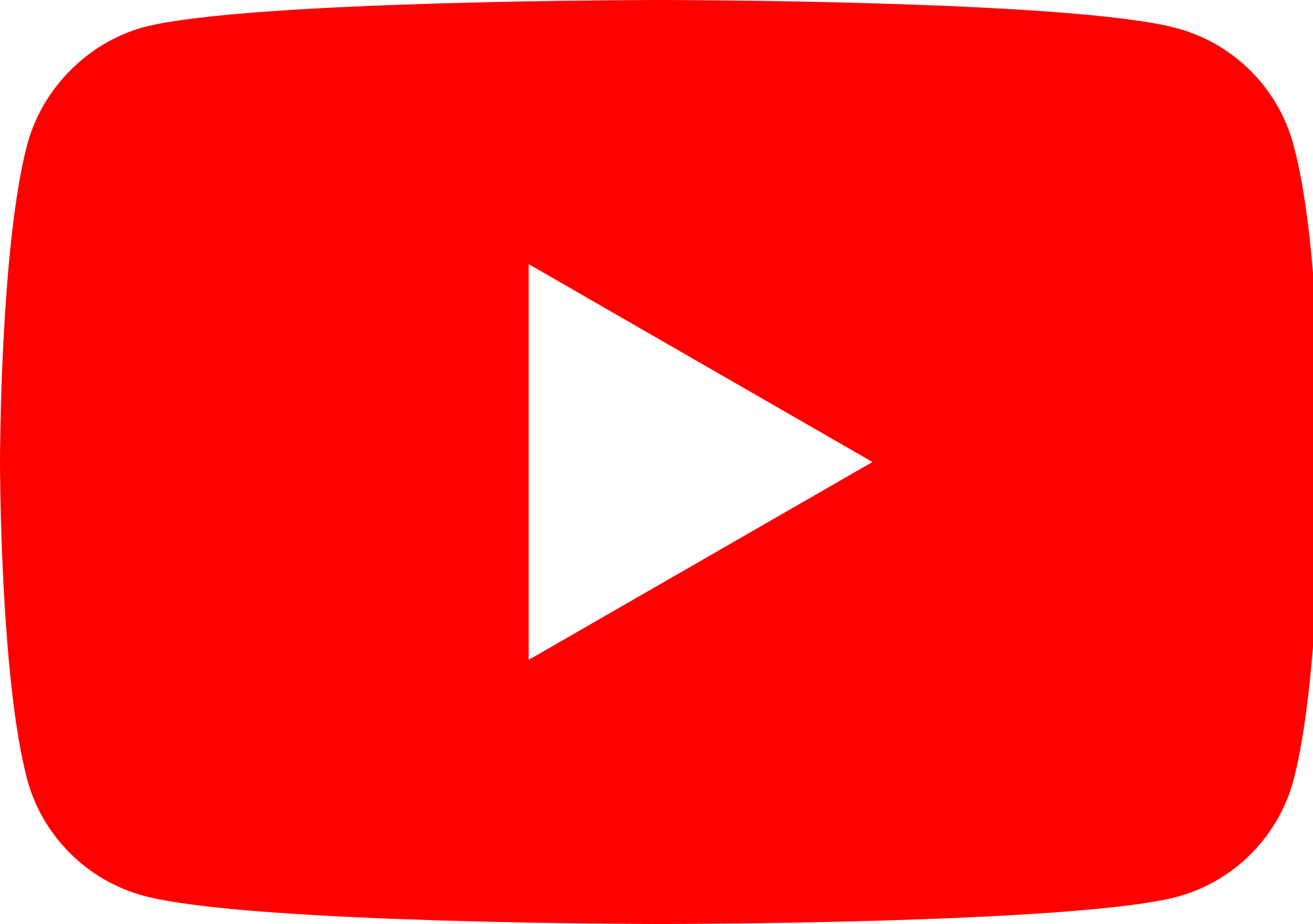 Red color png. File youtube full icon