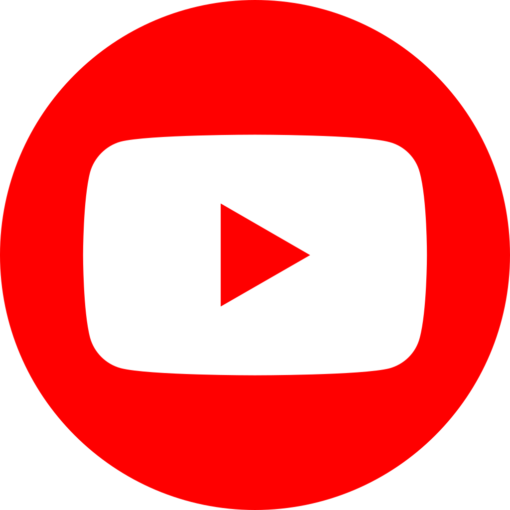 Youtube logo circle png. Social red by destinygames