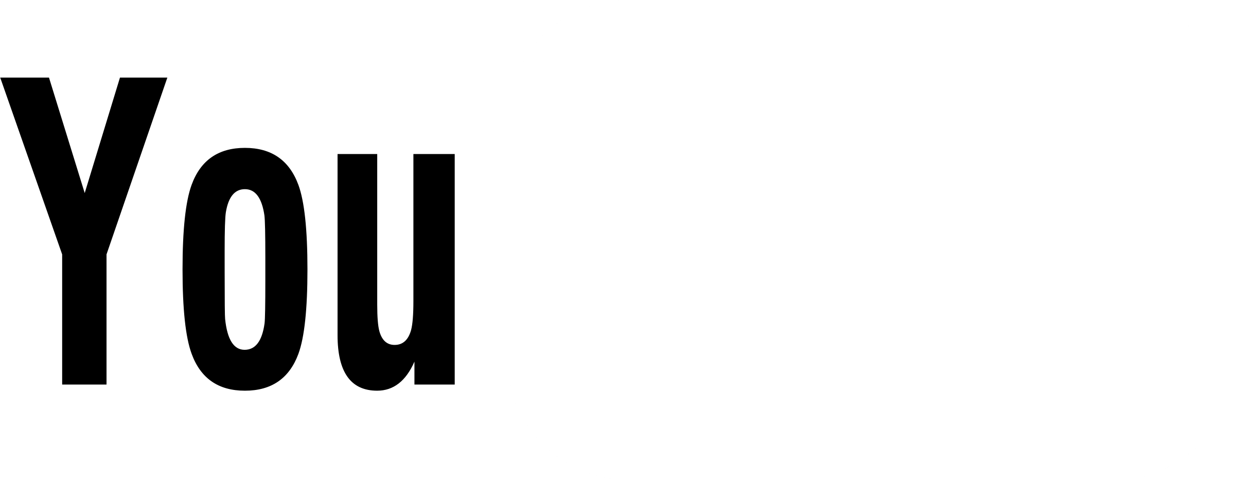 YouTube Logo PNG Transparent