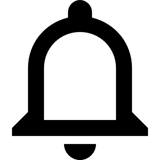 bell selected icon png